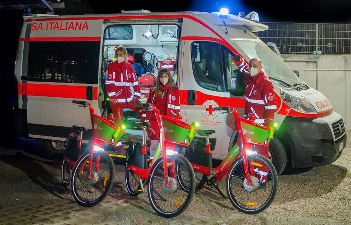 peli supports red cross volunteer
