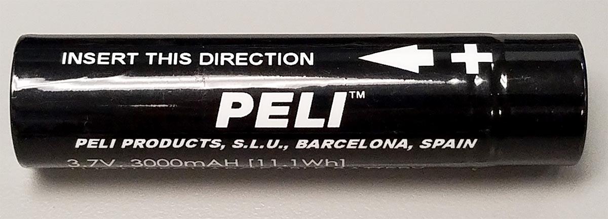 peli 3319z1 flashlight battery