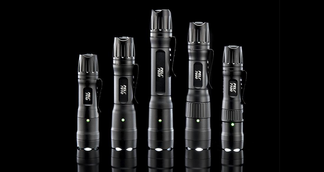 peli 7 series tactical flashlights