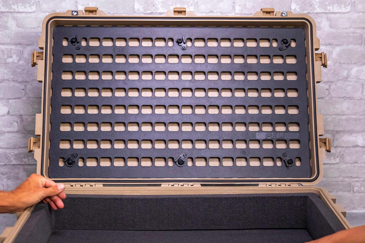 pelican 1650 large lid case panel