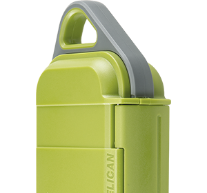 pelican puc case lime green