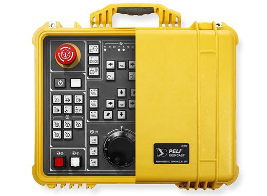 peli protector case electronic panel