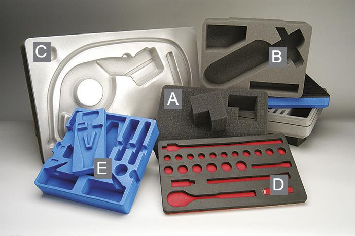 peli protector foam case options