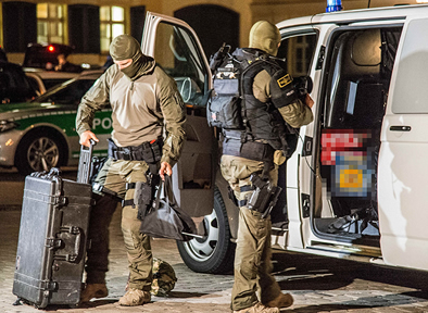 peli protector military police case