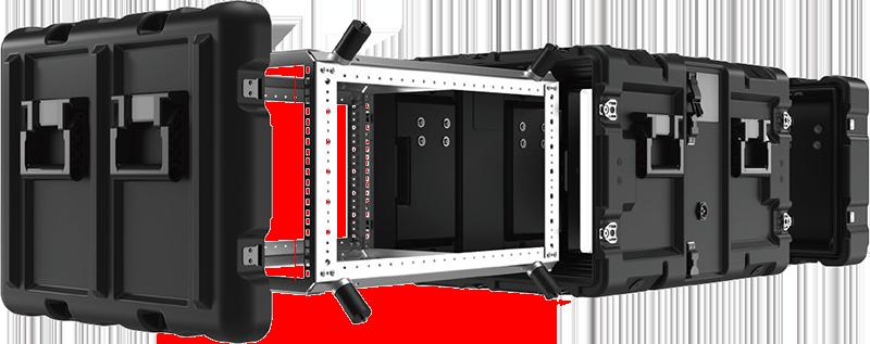 peli configurable rack case