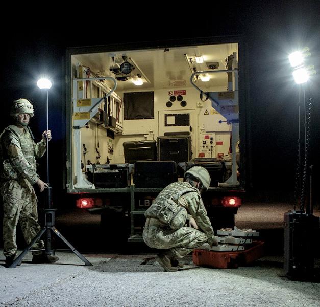 peli police and military remote area light