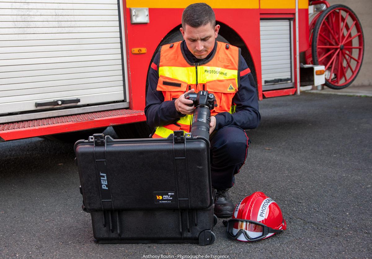 peli pro team anthony boutin firefighter photographer