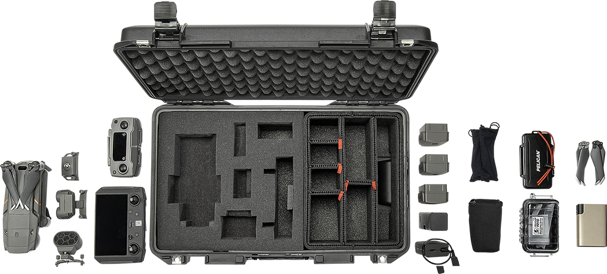 Peli TrekPak Foam Hybrid Hard Case