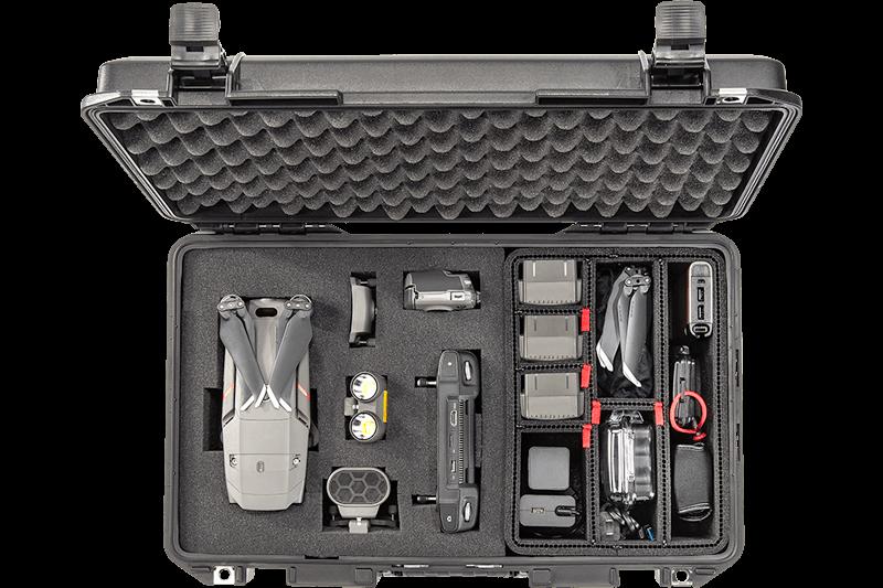 peli trekpak foam drone case