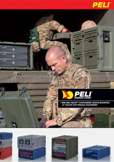 peli min mac rack mount case brochure