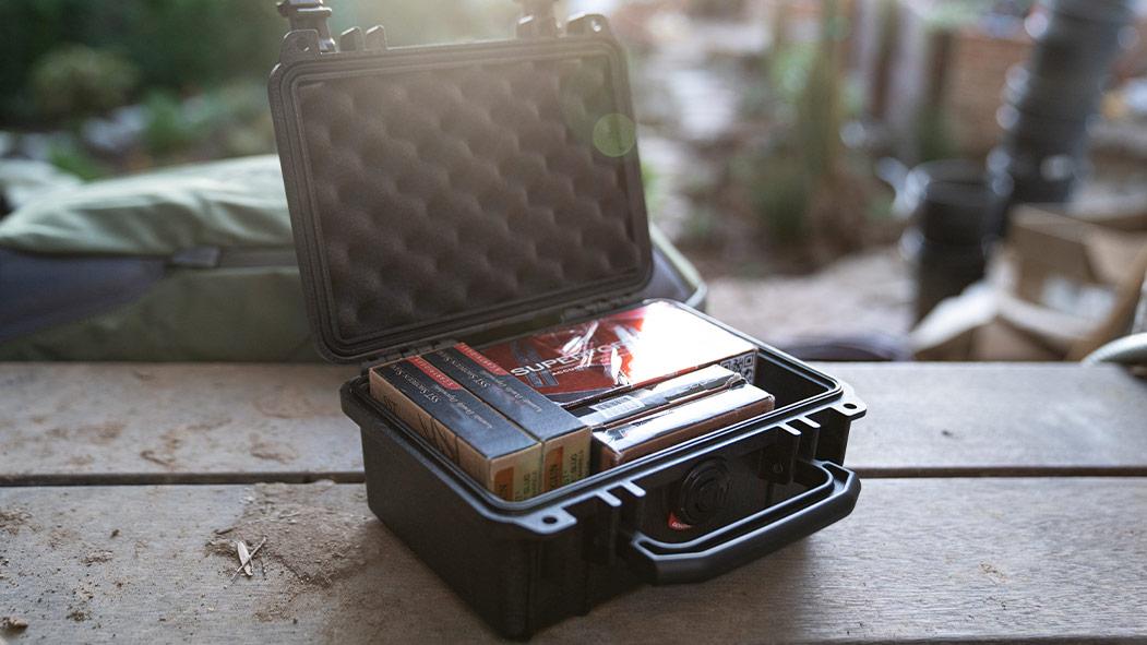 pelican 1120 shotgun shell ammo hard case