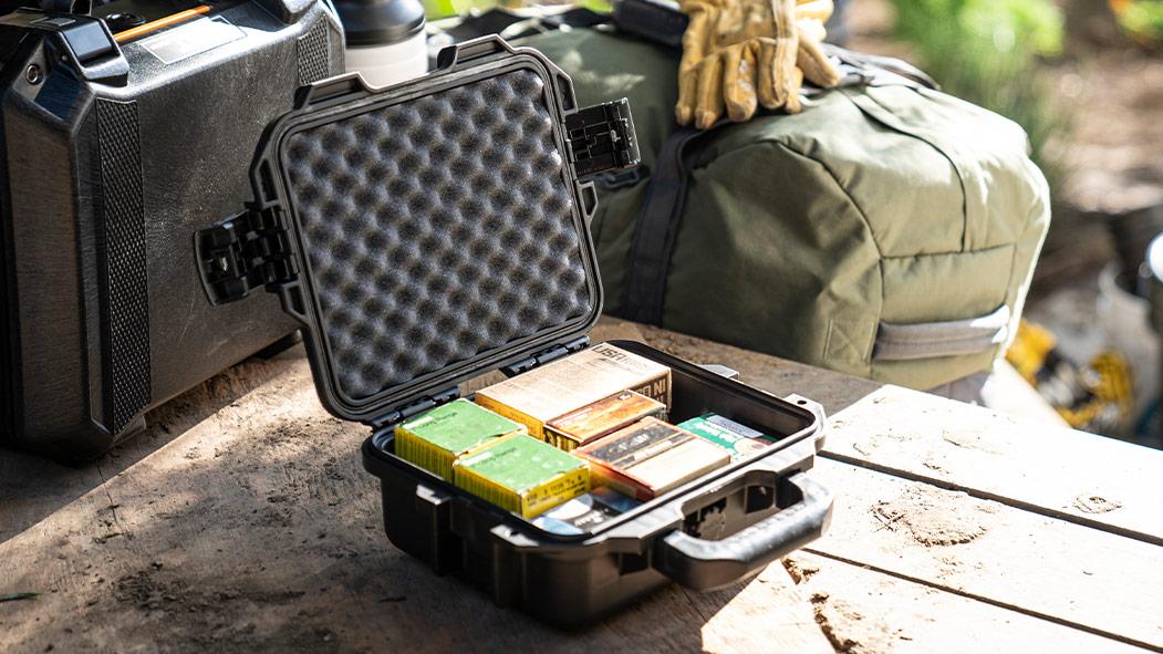 pelican im2050 blakc handgun ammo case