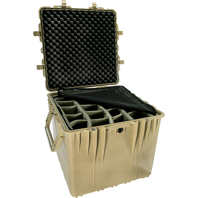 pelican 0370 cube hardcase padded dividers