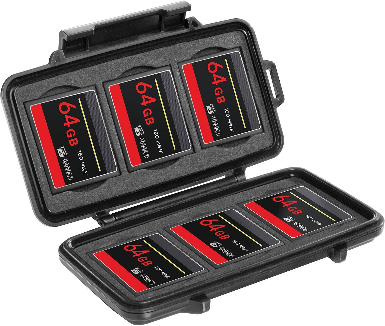 pelican waterproof 0945 memory card case