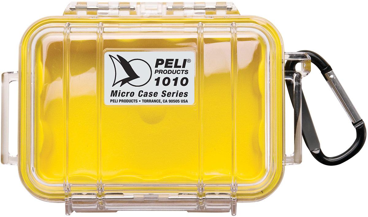 peli 1010 clear yellow micro case