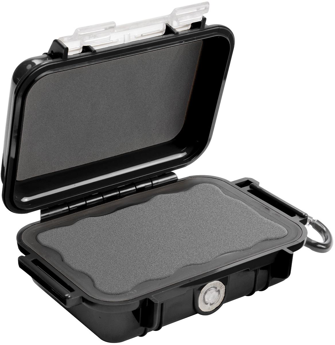 pelican 1010 waterproof black tiny case
