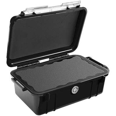 pelican watertight electronics enclosure box