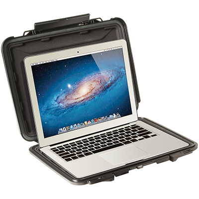 pelican 1070cc hard macbook air laptop protective case