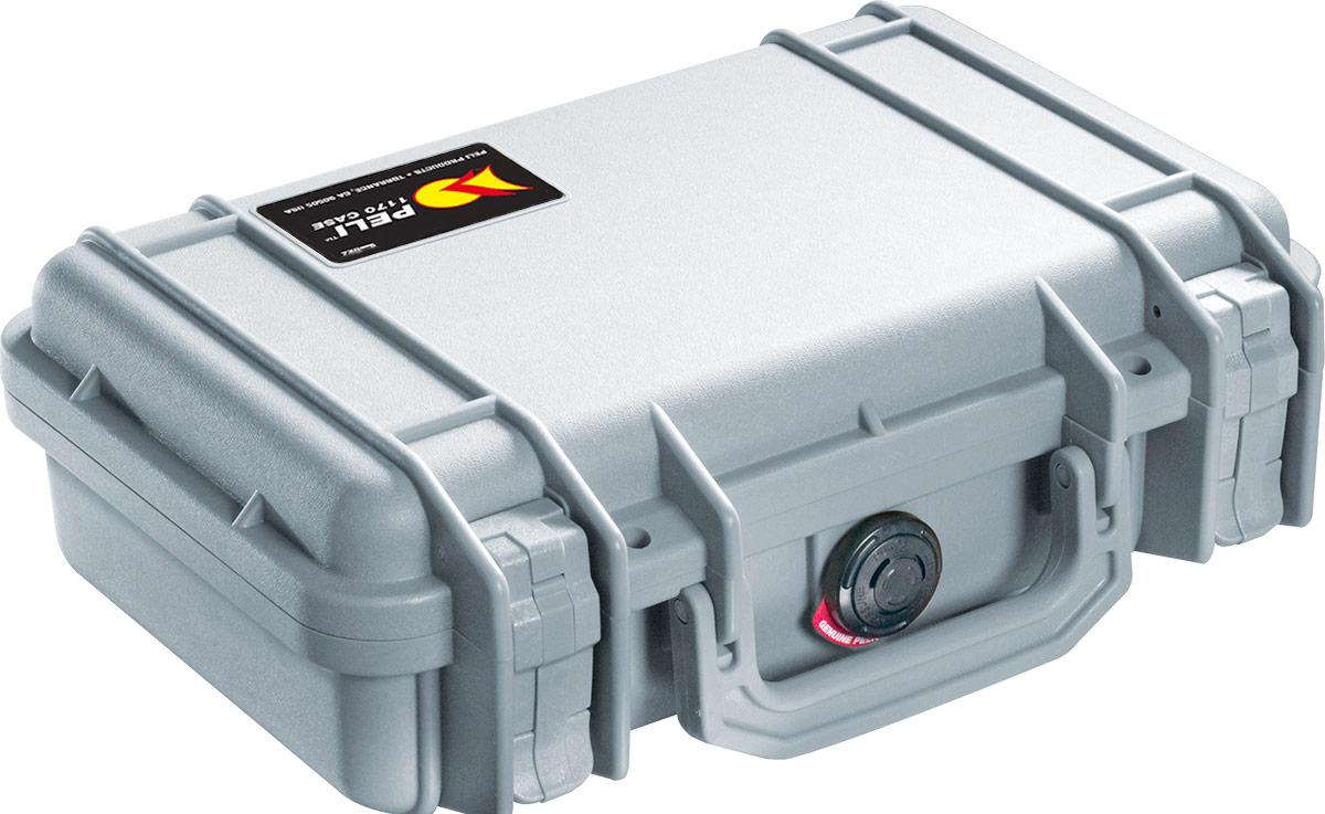peli 1170 small silver hard case