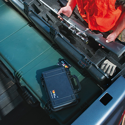 peli 1170 watertight hunting pistol case pelicase