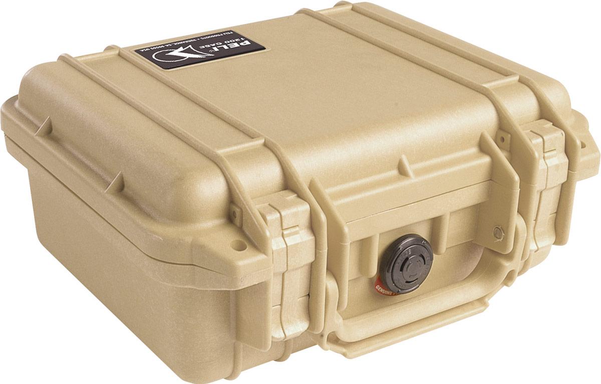 peli 1200 tan protection case