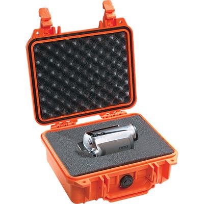 pelican 1200 orange camcorder case