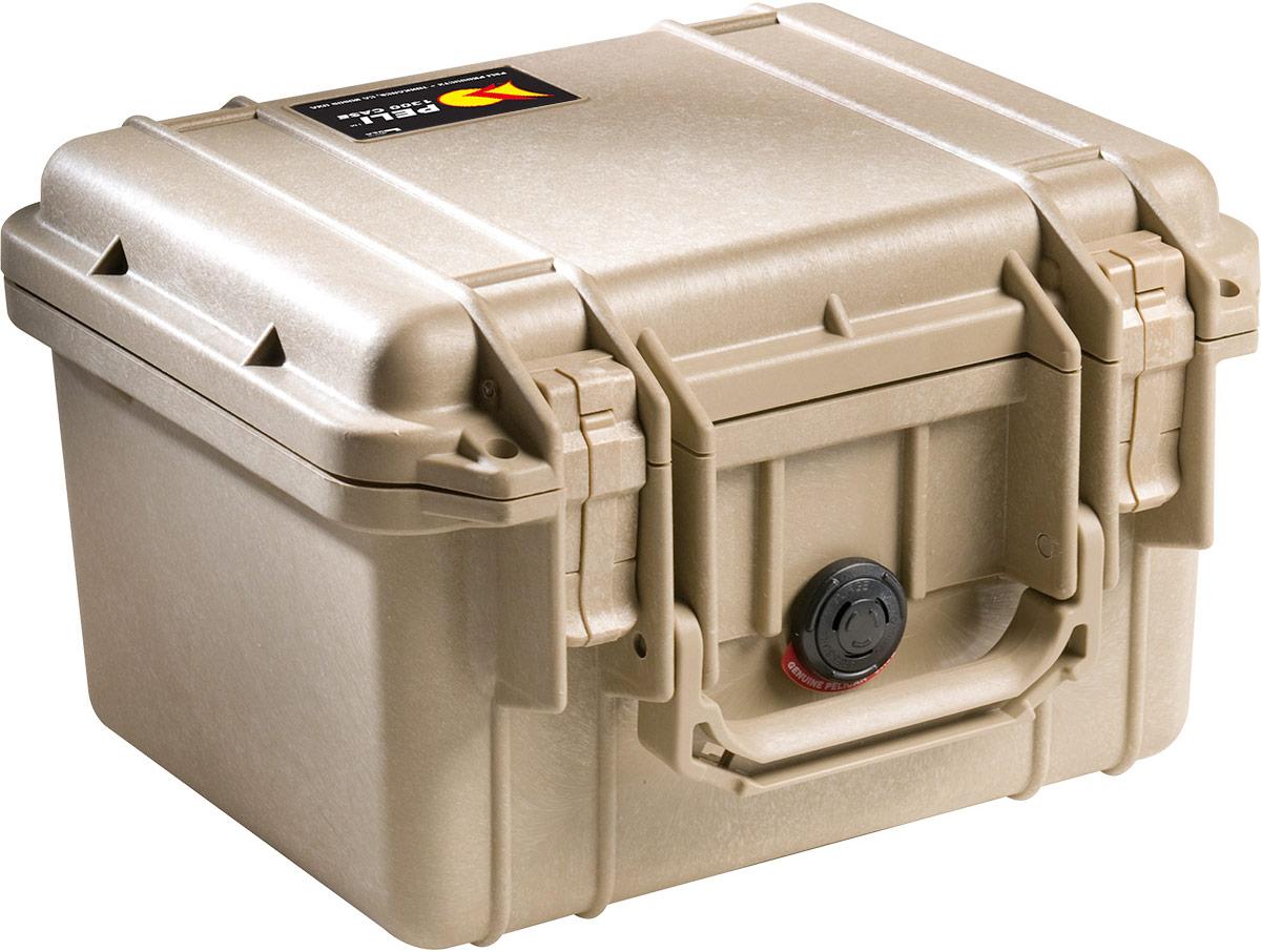 peli 1300 desert tan protection case