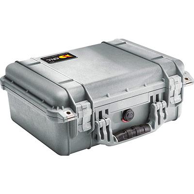 peli 1450eu silver camera protector case