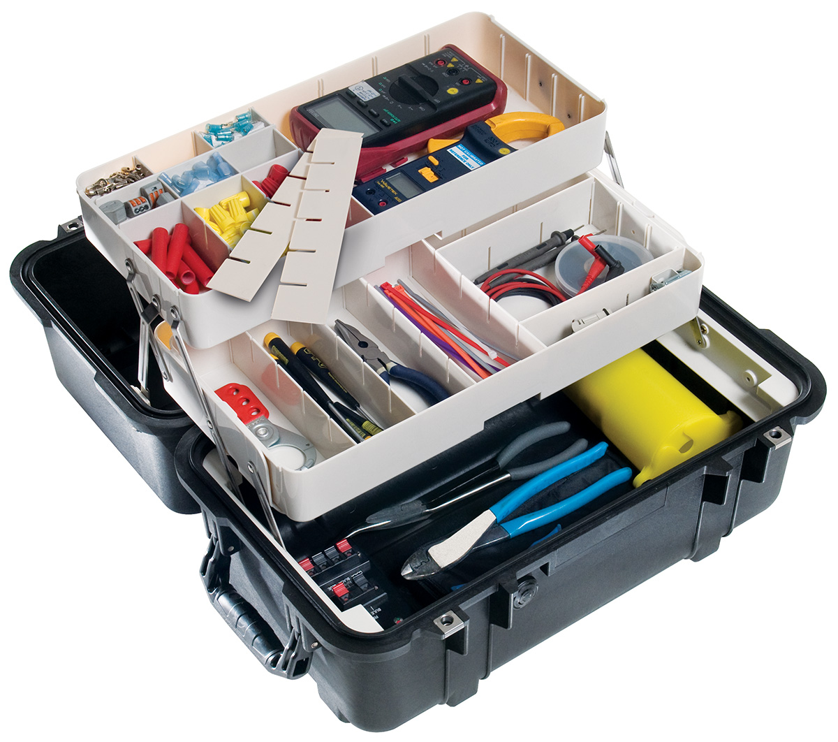 pelican mobile tool fishing tackle box case