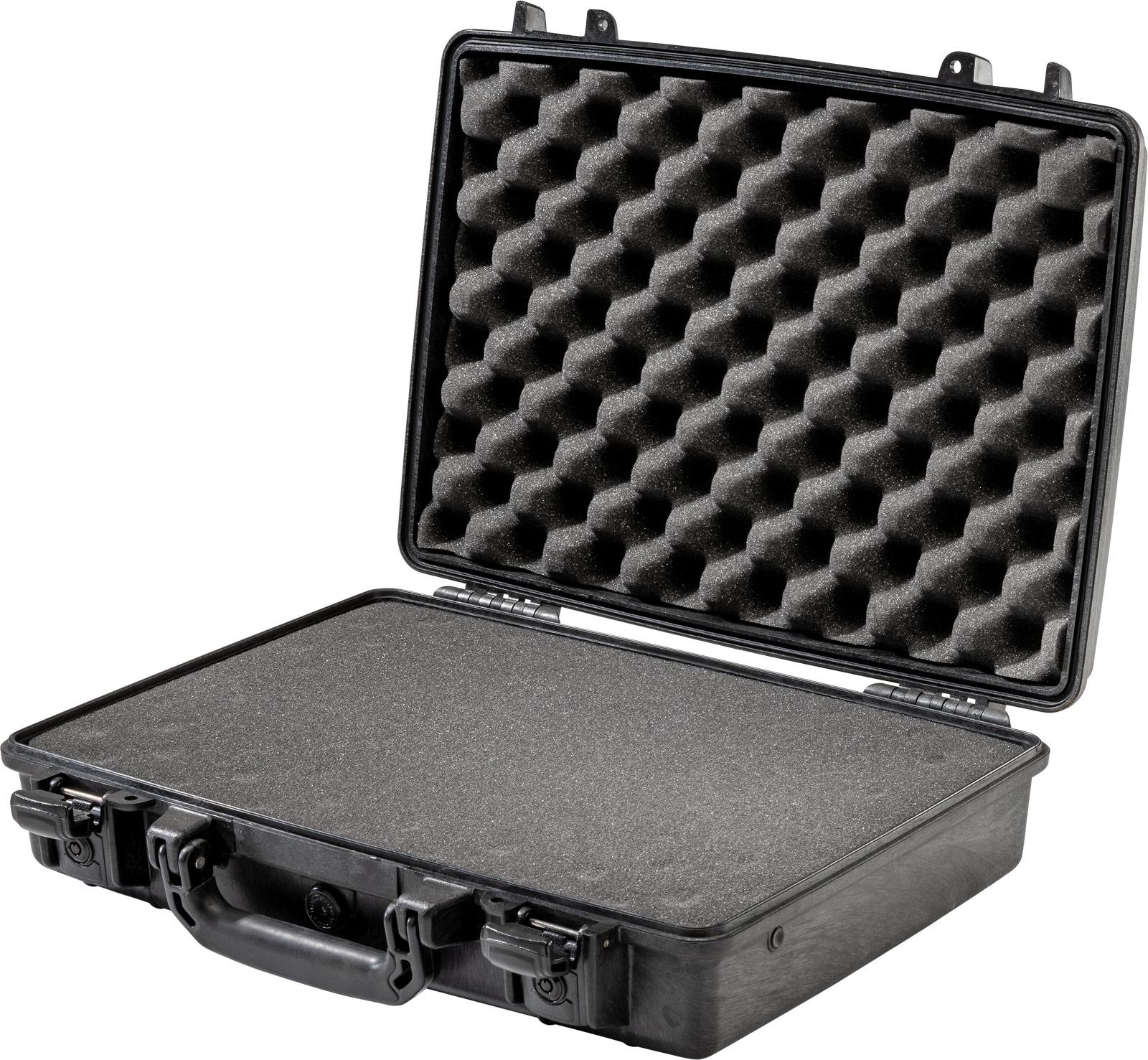 pelican locking case protective laptop briefcase