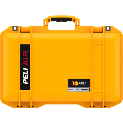 peli products air cases yellow case