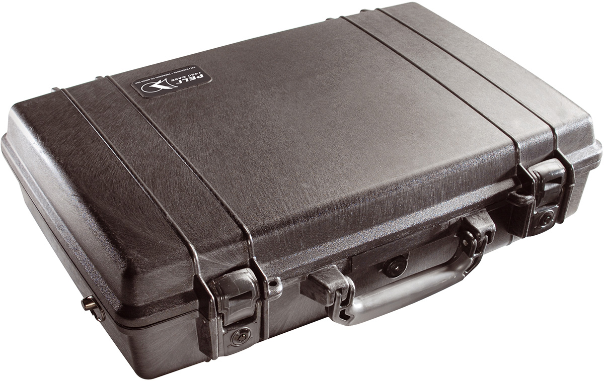 peli 1490 waterproof hard briefcase case
