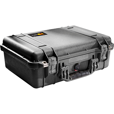 pelican 1500 protective travel camera lens case
