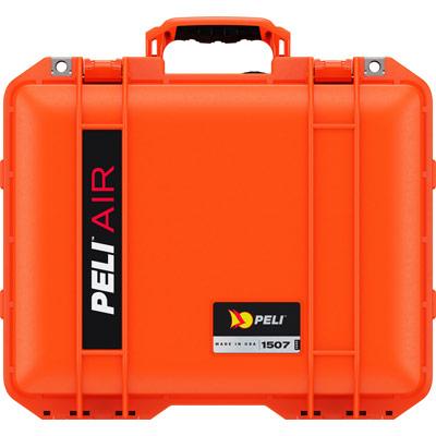 peli 1507 orange protective case