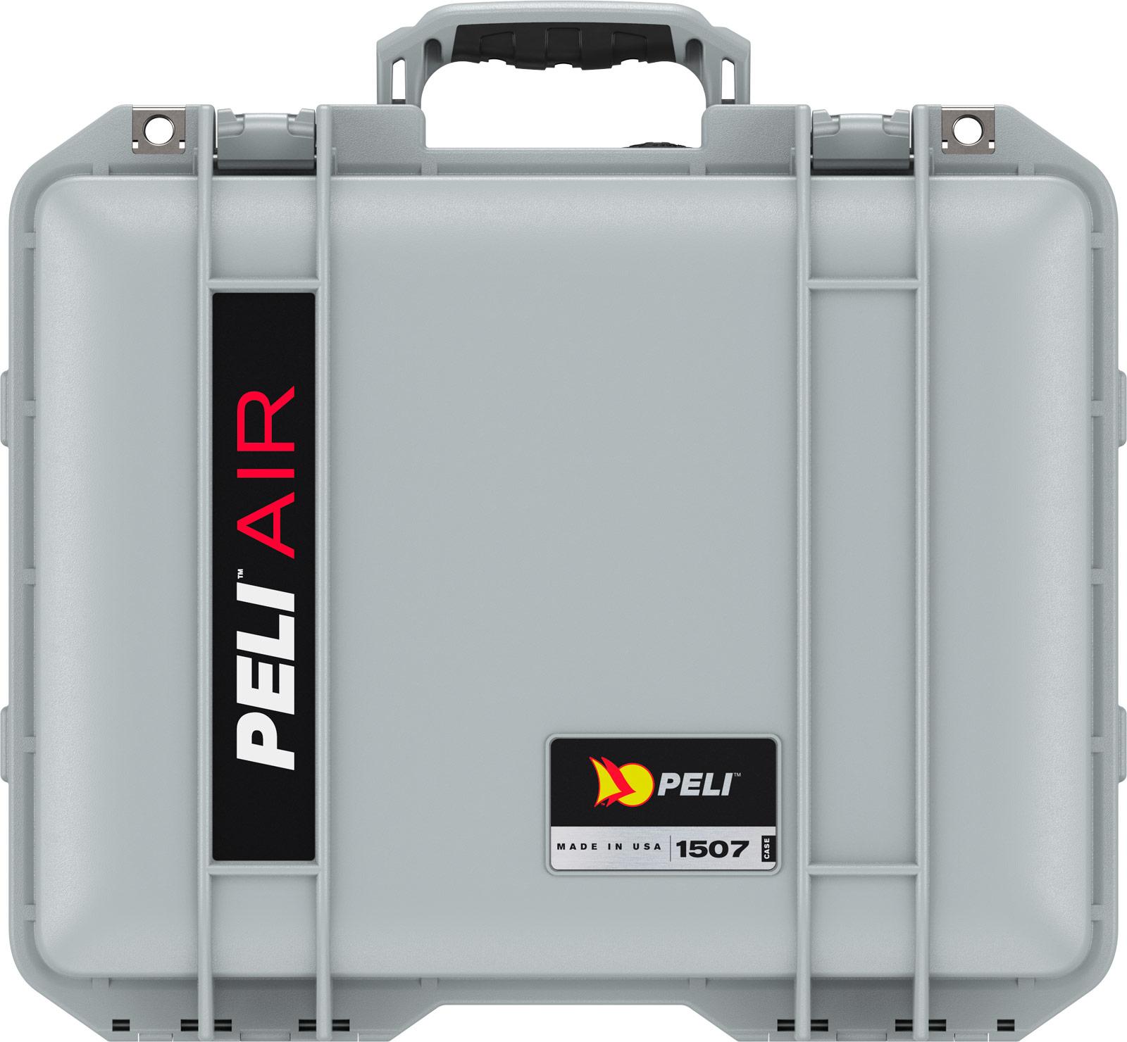 peli 1507 silver wateright foam case