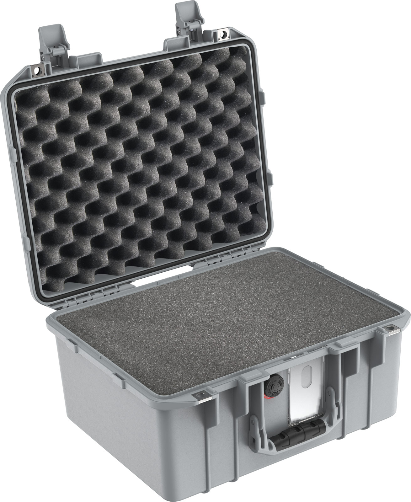 pelican air 1507 silver carry on case