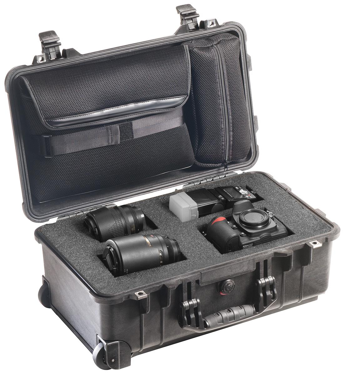 pelican professional rolling travel camera case