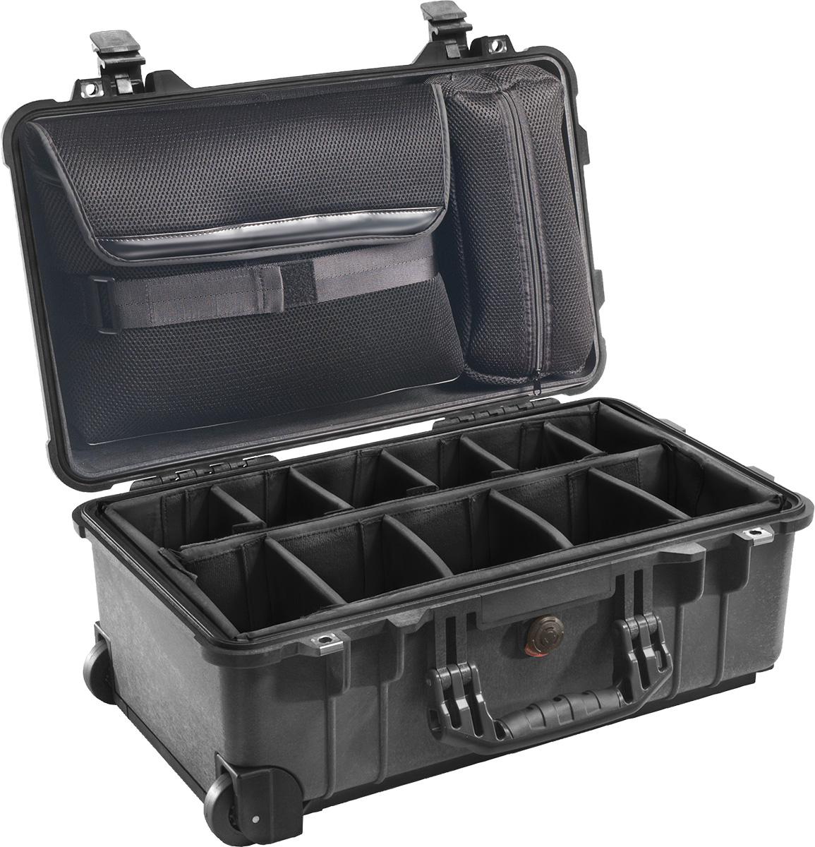 peli 1510sc studio camera case with dividers