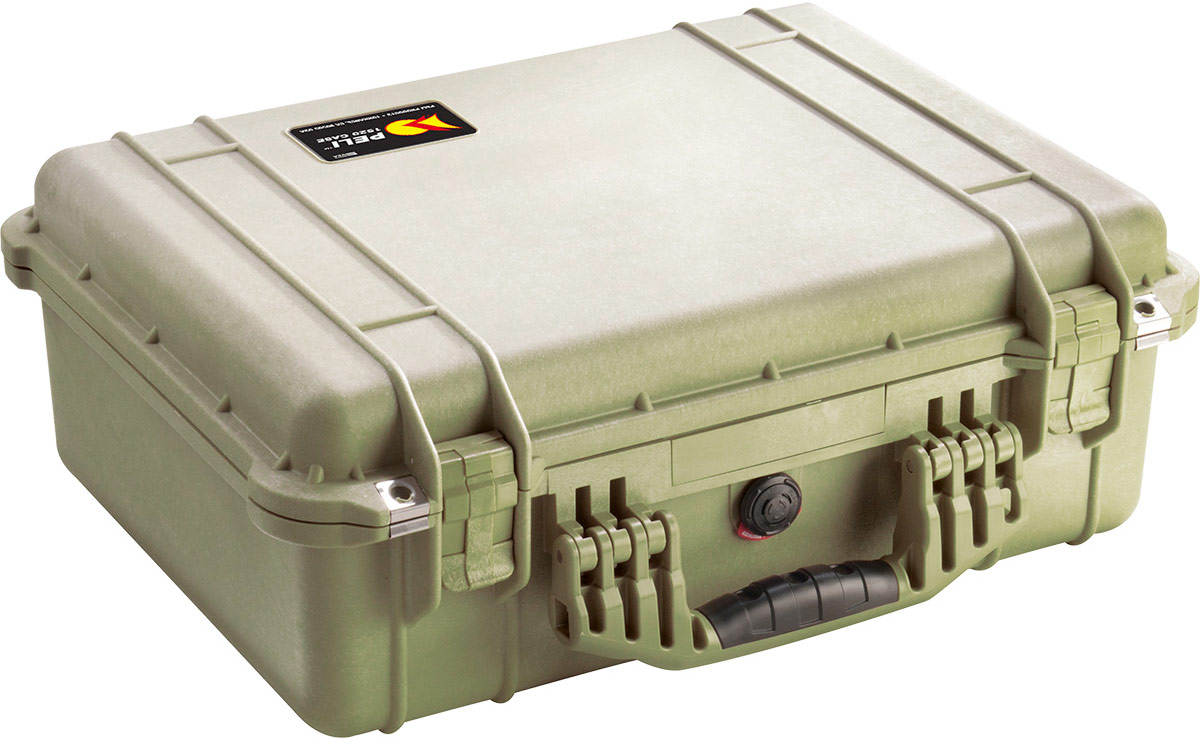 peli 1520eu green camera case