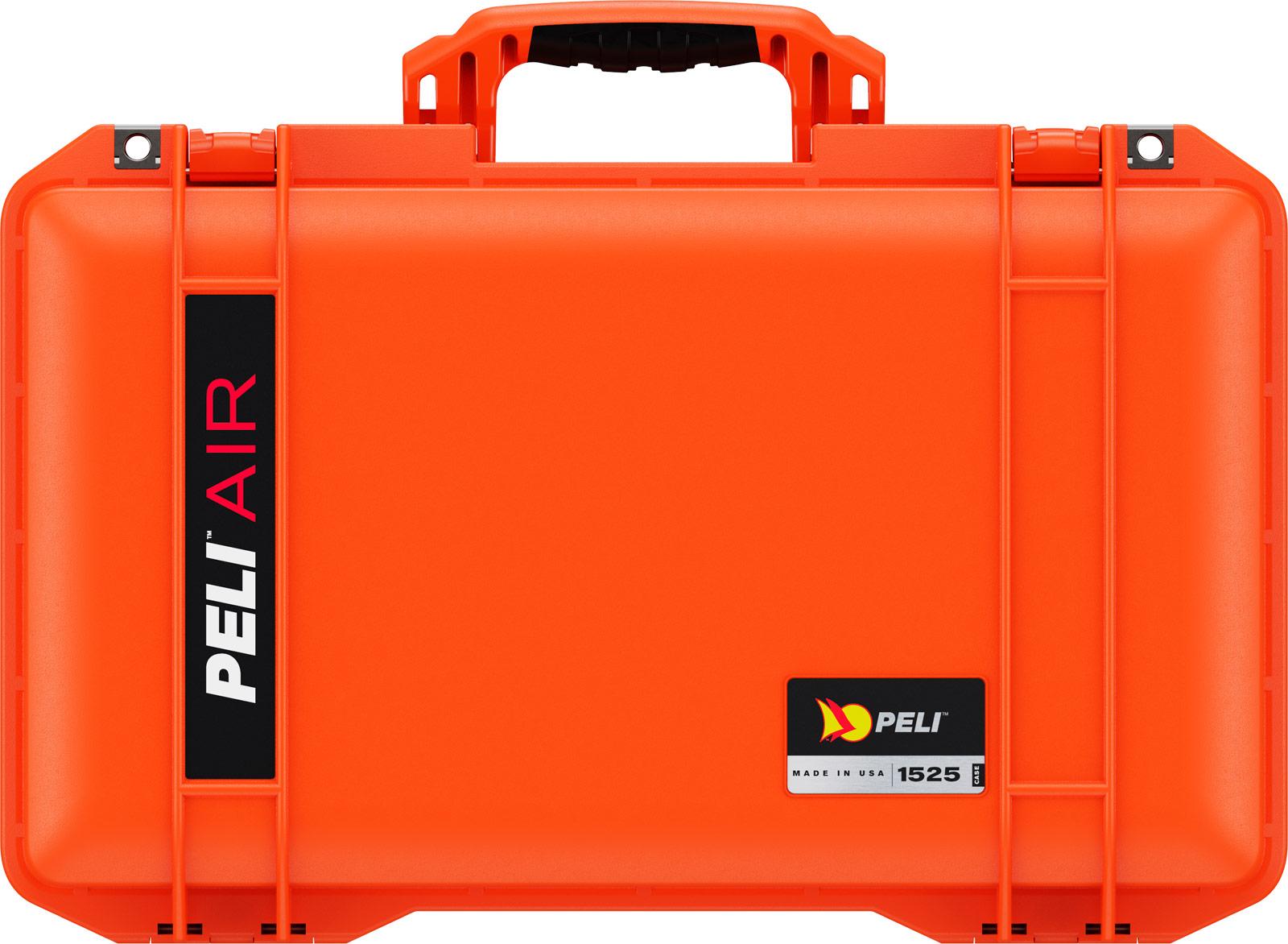 peli lightweight cases orange air case