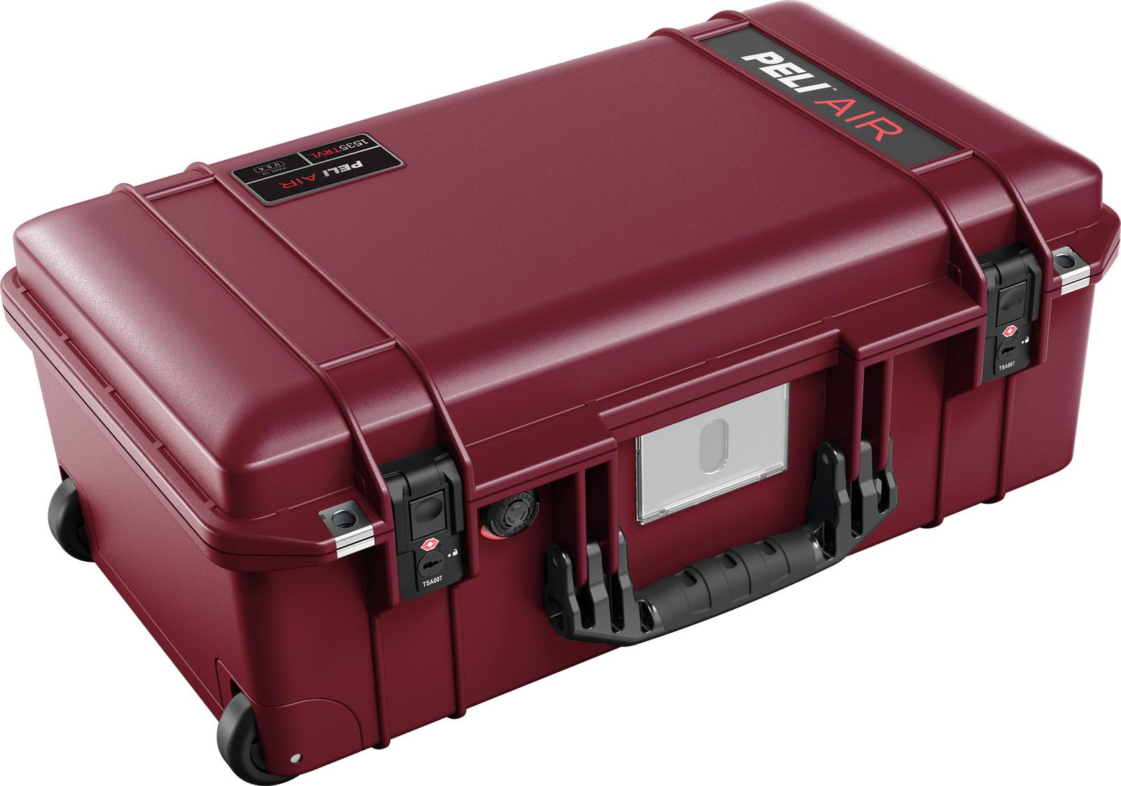 peil 1535 oxblood travel case