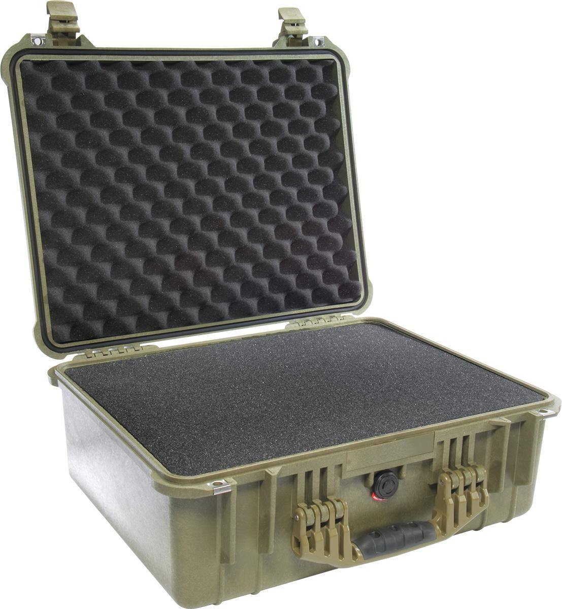 pelican hard shell waterproof tactical case