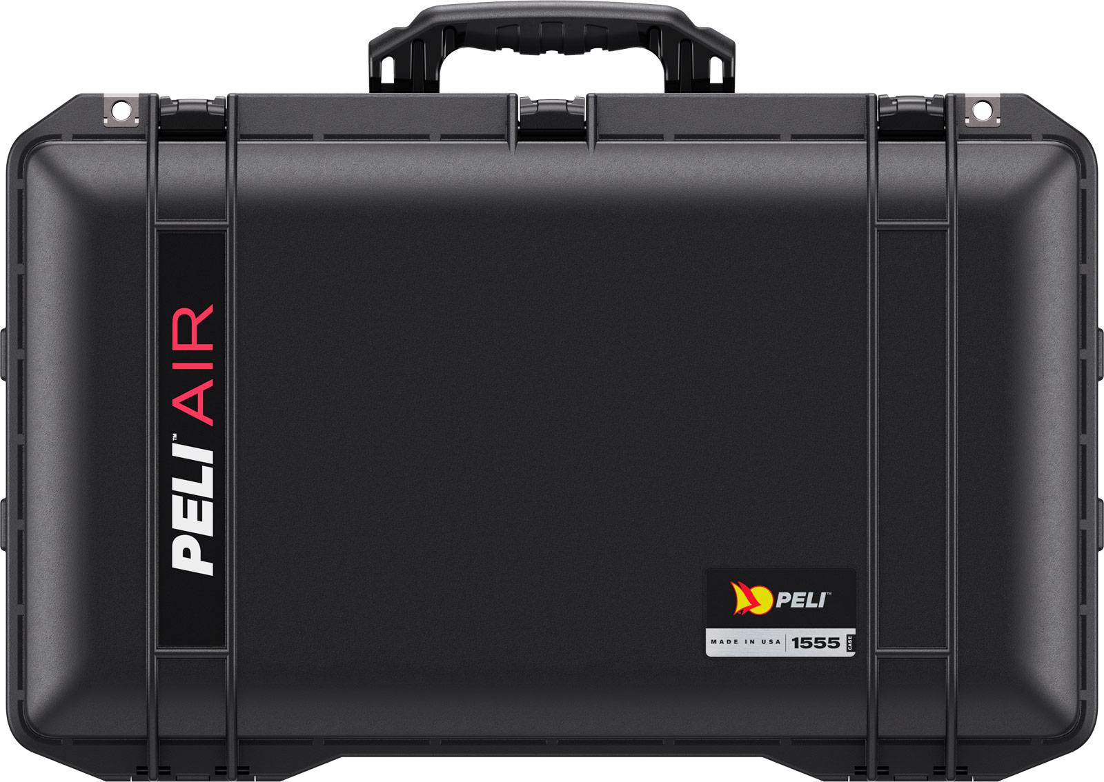 peli air case black 1555 watertight cases