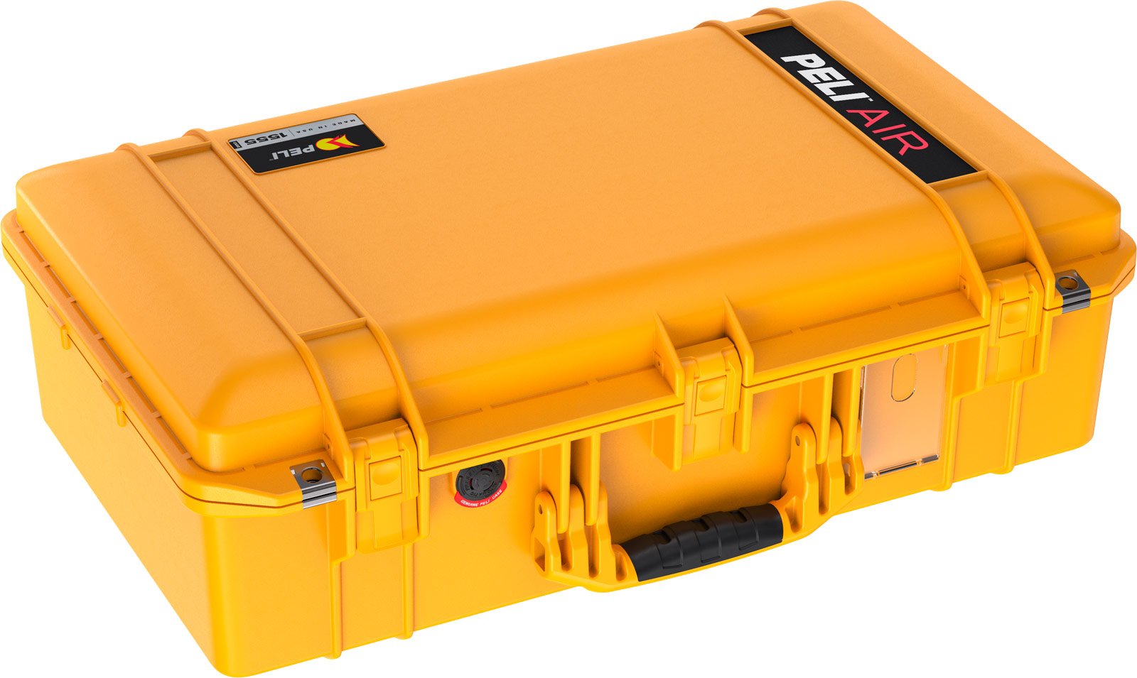 peli air lightweight hard case 1555 yellow