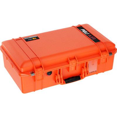 peli products air case orange color cases