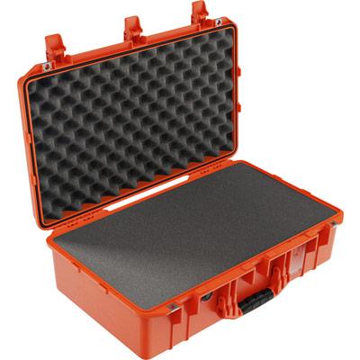 pelican 1555 orange foam waterproof case