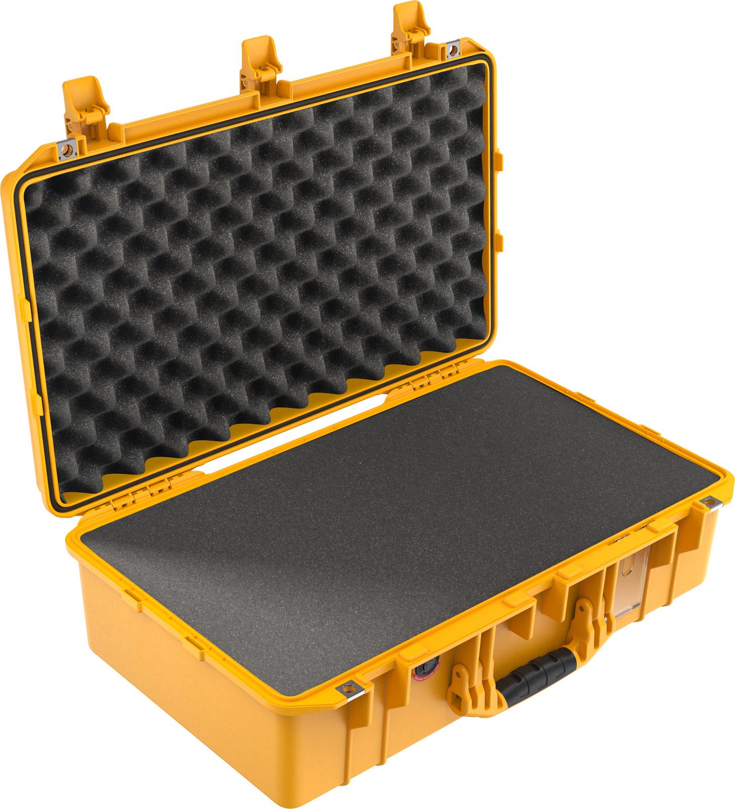 pelican 1555 yellow air lightweight case