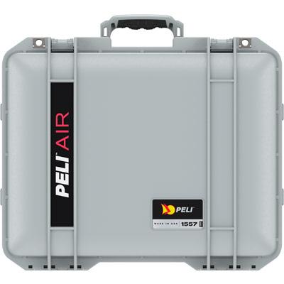 peli 1557 silver case with foam