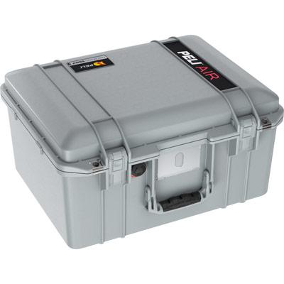 peli hard drone camera case grey