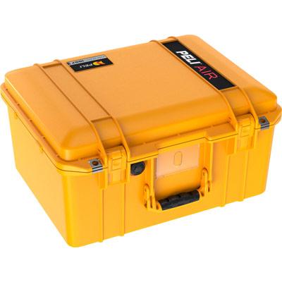 peli hard drone camera case yellow